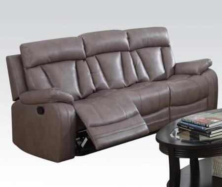 Acme Furniture 51420 Isidro Series  Leather Sofa
