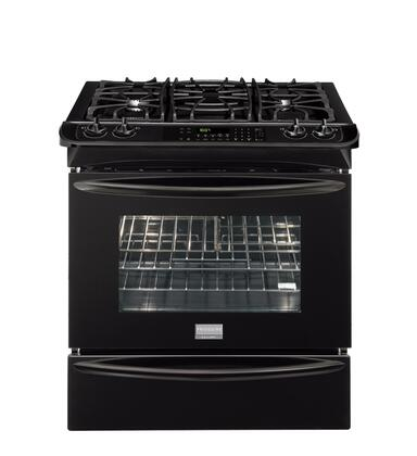 Frigidaire FGDS3065KB Slide-in Dual Fuel Range |Appliances Connection