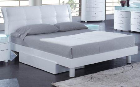 Global Furniture USA EVELYNWHKB Evelyn Series  Bed