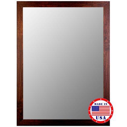 Hitchcock Butterfield 25050X Cameo Mirror in New England Dark Walnut