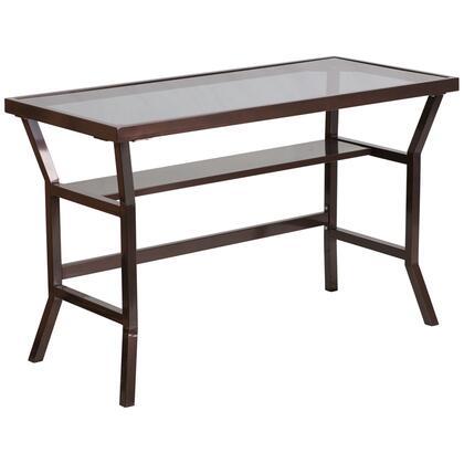 Flash Furniture NANYLCD1237GG Credenza  Metal Desk