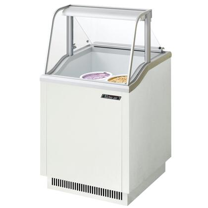 "Turbo Air TIDC26W 26"" Commercial Ice Cream Freezer"