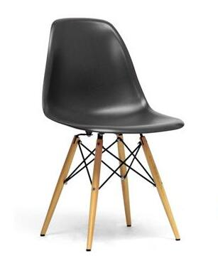 Wholesale Interiors DC231AX Azzo Series Plastic Mid-Century Modern Shell Chair