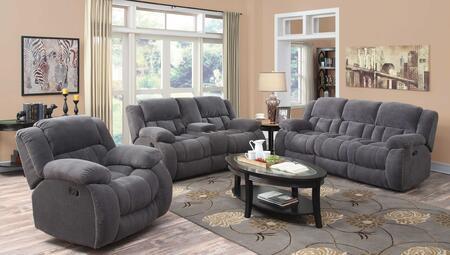 Coaster 601921SLC Weissman Living Room Sets