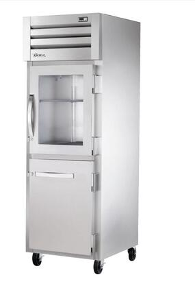True STA1R Spec Series Reach-In Refrigerator with 31 Cu. Ft. Capacity, LED Lighting, and Swing-Door