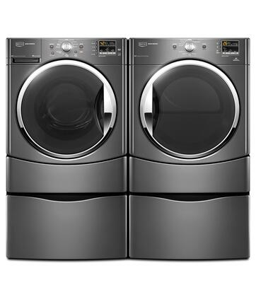 Maytag Mhwe251yg 3 5 Cu Ft Front Load Washer In Grey