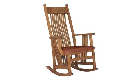Chelsea Home Furniture 313004ABBOTT  Wood Frame Fabric Rocking Chair