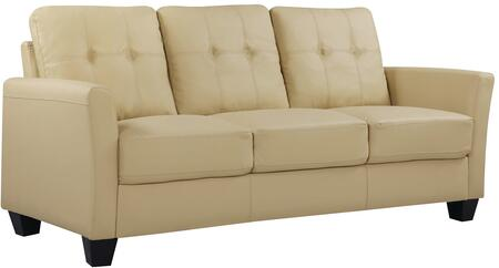 Glory Furniture G576S  Stationary Faux Leather Sofa