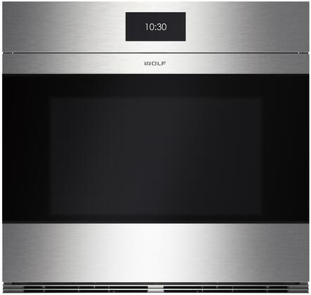 "Wolf SO30CM 30"" M Series Contemporary Built-In Single Oven with 5.1 cu. ft. Capacity, 10 Cooking Modes, Convection System, and Gourmet Proof, in"