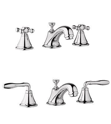 Grohe 20800 Double Handle Widespread Lavatory Faucet from the Seabury Series