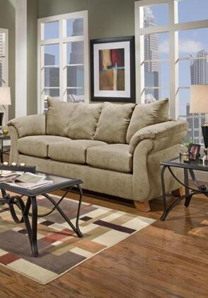 Chelsea Home Furniture 6703SC Verona IV Series Stationary Fabric Sofa