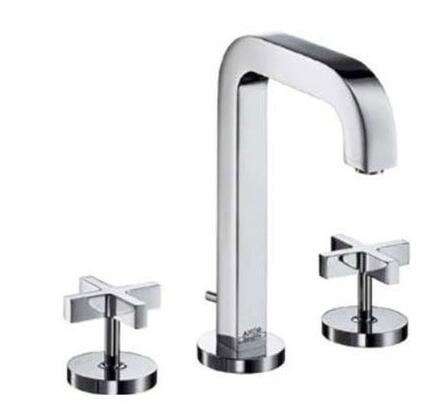 Hansgrohe 39133 Axor Citterio Widespread Lav Set with Cross Handles:
