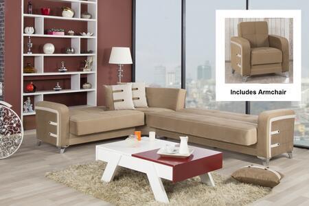 Casamode DESECACGBN Living Room Sets