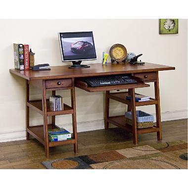Sunny Designs 2949WC Timber Creek Series  Desk