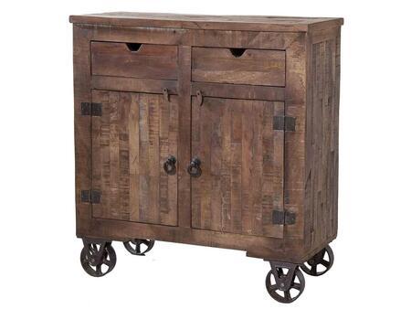 Stein World 12340 Freestanding Wood 2 Drawers Cabinet