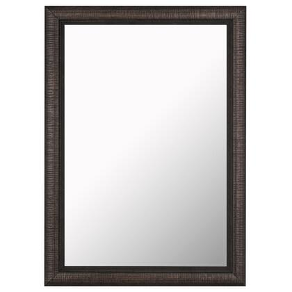 Hitchcock Butterfield 68030X Reflections Textured Stylish Bronze Framed Wall Mirror