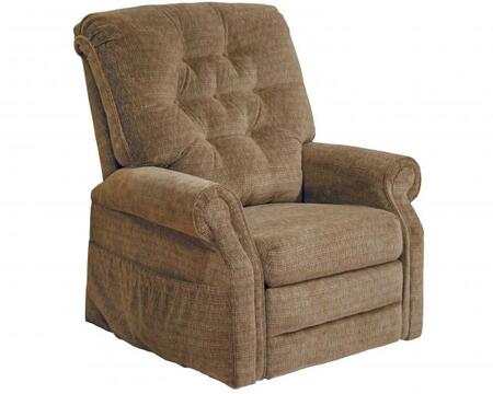 Catnapper 4824180036 Patriot Series Transitional Velvet Metal Frame  Recliners