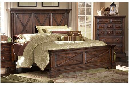 American Woodcrafters 610066PAN  King Size Panel Bed