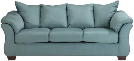 Flash Furniture FSD1109SOSKYGG Darcy Series Stationary Microfiber Sofa