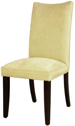 Standard Furniture 19988 La Jolla Series Contemporary Fabric Wood Frame Dining Room Chair