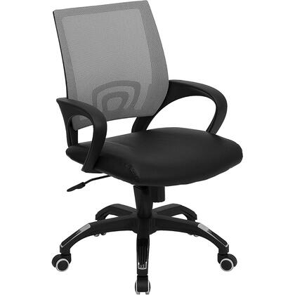 "Flash Furniture CPB176A01GRAYGG 22.5"" Contemporary Office Chair"