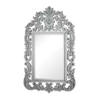 Sterling 11430 Bilbao Series Rectangle Portrait Wall Mirror