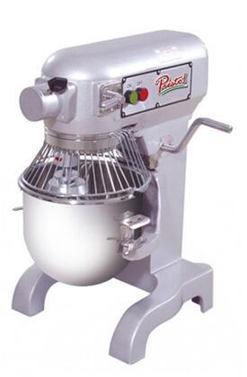 Presto PMx Quart Mixer with Quart Capacity, lbs Flour Capacity, HP, 3 Speeds, in Stainless Steel