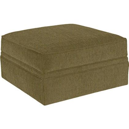 Broyhill Veronica 6171-5/8141 Storage Ottoman with Spring Loaded Hinged Lid, Casters and Fabric Upholstery in