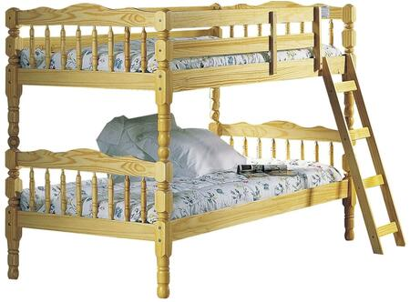 Acme Furniture 02299 Homestead Series  Twin Size Bunk Bed
