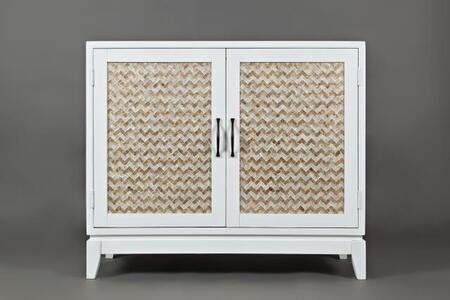 """Jofran Seychelles Collection 1674-XX XX """"Accent Chest With Two doors and XX Capiz Front in XX"""