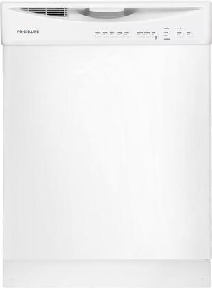 """Frigidaire FFBD2411NW 24"""" Built In Full Console Dishwasher"""