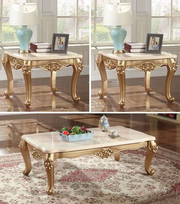 Meridian 2763PCRC2SEKIT1 Bennito Living Room Table Sets
