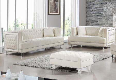 Meridian 6092PCSTLKIT3 Lucas Living Room Sets