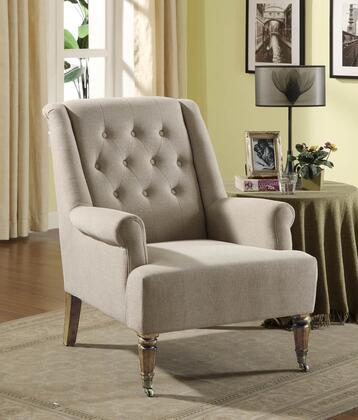 Armen Living LC2076SA Albert Series  with Fabric Frame in Grey