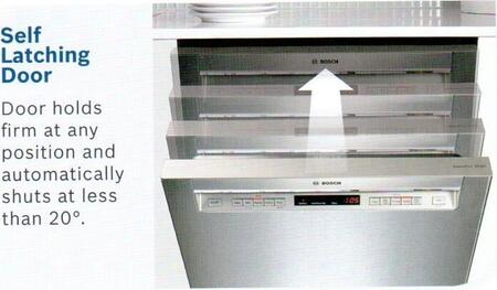 Bosch Shp65t52uc 500 Series Energy Star Rating Dishwasher
