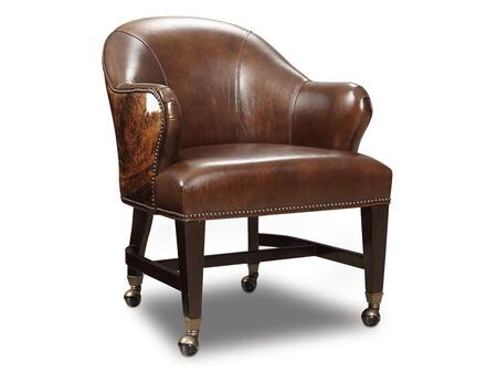Hooker Furniture Isadora Isadora Coffee and Dark Brindle HOH Game Chair