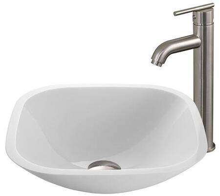 Vigo VGT207 Brushed Nickel Bath Sink