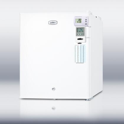 Summit FS22L7MEDSC AccuCold Series  Freezer with 1.42 cu. ft. Capacity in White