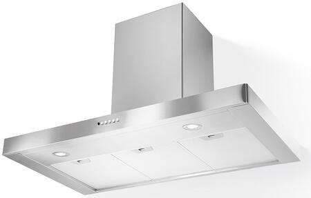 Faber STIL Stilo Wall Range Hood with Internal Blower, Dishwasher Safe Mesh Filters, Two Level LED Lights, Delay Auto Shut Off and Intensive Speed in Stainless Steel