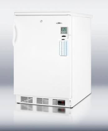 Summit SCFF55LMEDDT MEDDT Series  Freezer with 5 cu. ft. Capacity in White