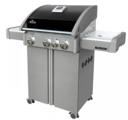 Front View of the Grill