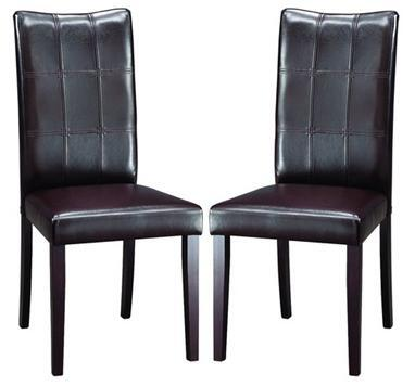 Wholesale Interiors EVELEENDININGCHAIR107540SET Eden Dining