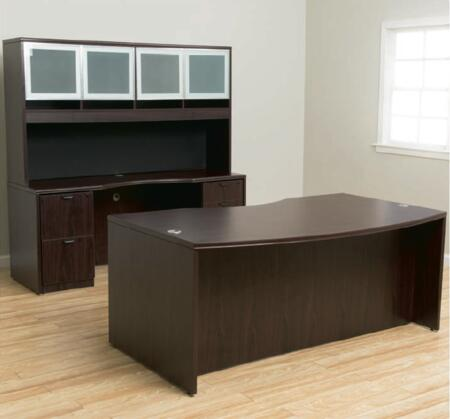 Boss KIT2N166M Library and Office Furniture