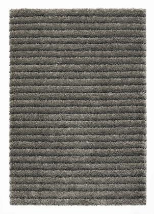 Citak Rugs 5680-025X Shoreline Collection - Layers - Slate Mix