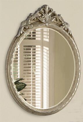 Yuan Tai GA4540M Gustave Series Oval Portrait Wall Mirror