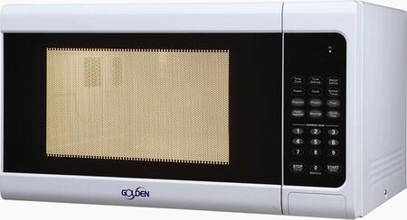 Golden GM09W Countertop Microwave, in White