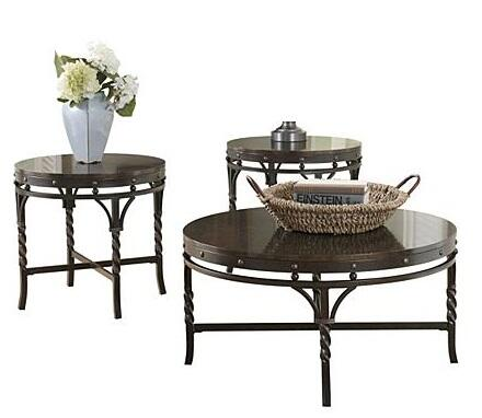 Signature Design by Ashley T26513 Transitional Living Room Table Set
