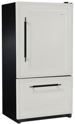 Heartland 316505RHD  Counter Depth Bottom Freezer Refrigerator with 20.2 cu. ft. Capacity in Blue