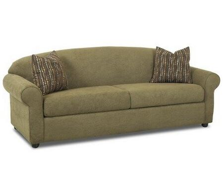Klaussner POSSIBILITIESQSLP Possibilities Series Pull-Out Polyester Sofa