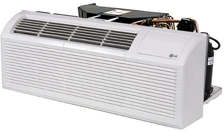LG LP153xDUC PTAC with 15100 Cooling BTU, Digital Control Display, GoldFin Anti-Corrosion Condenser Treatment and Ultra-Quiet Operation, in White